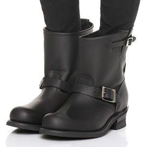 Short Frye Moto Boots